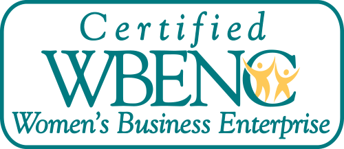 Certified a Women Owned Business by WBENC